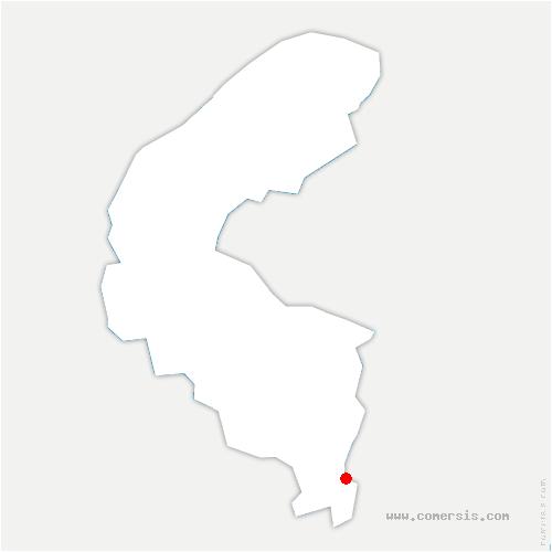 carte de localisation de Antony