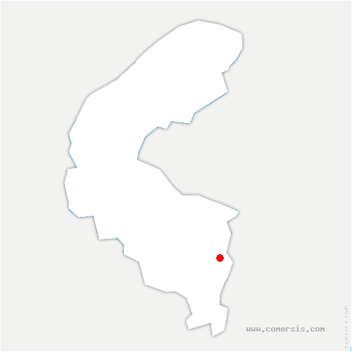 carte de localisation de Bourg-la-Reine