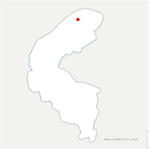 carte de localisation de Colombes