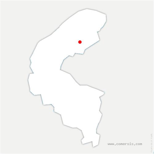 carte de localisation de Courbevoie