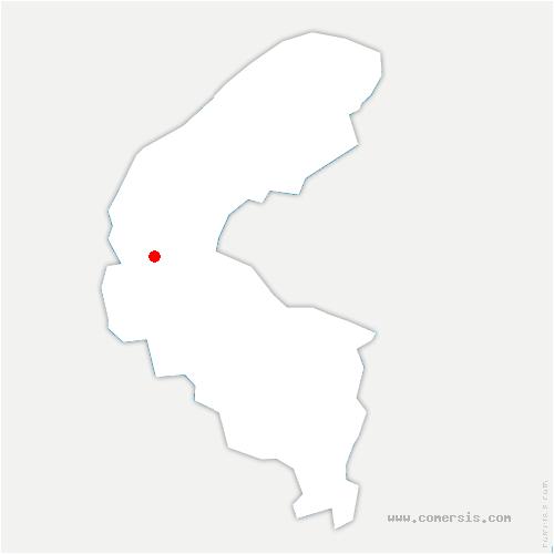 carte de localisation de Garches