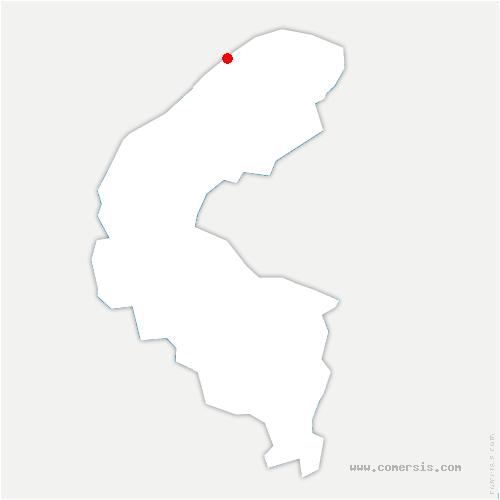 carte de localisation de Gennevilliers