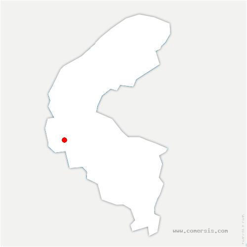 carte de localisation de Marnes-la-Coquette
