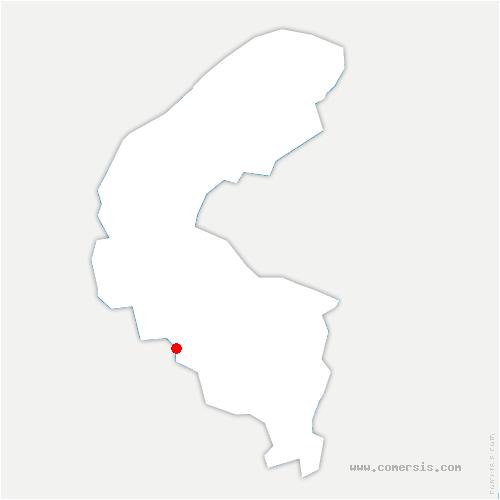 carte de localisation de Meudon