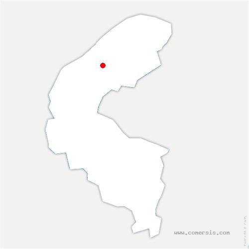 carte de localisation de Nanterre
