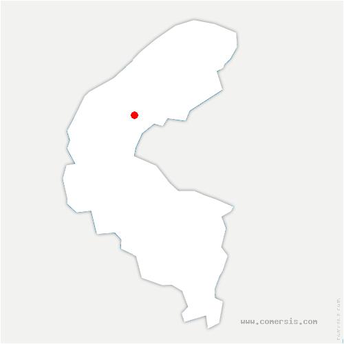 carte de localisation de Puteaux