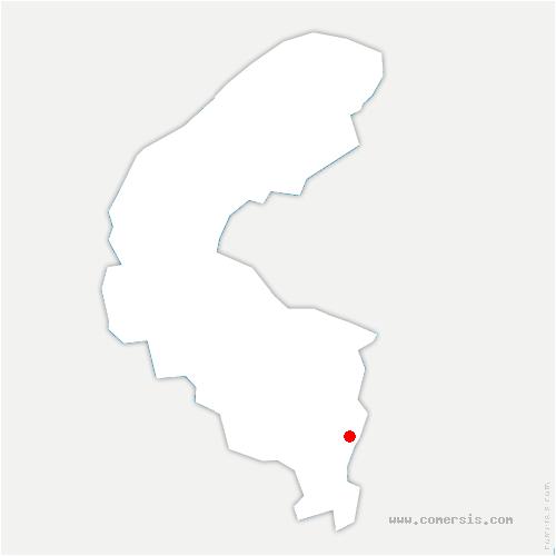 carte de localisation de Sceaux