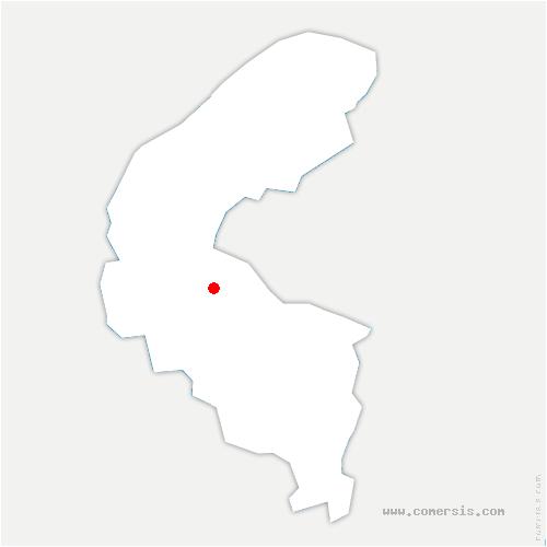 carte de localisation de Sèvres