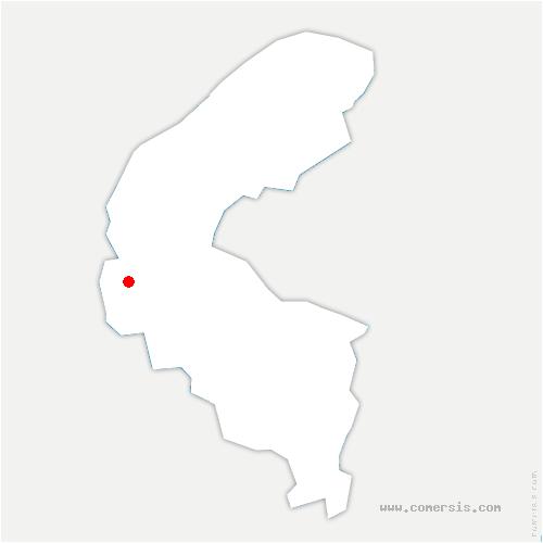 carte de localisation de Vaucresson