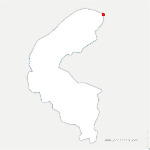 carte de localisation de Villeneuve-la-Garenne