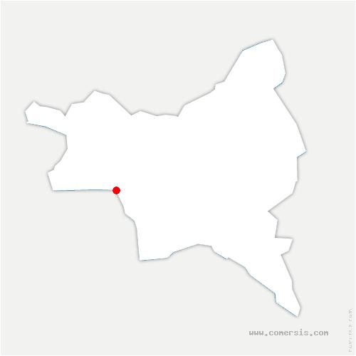 carte de localisation de Aubervilliers