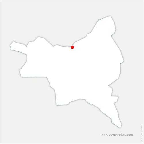 carte de localisation de Aulnay-sous-Bois