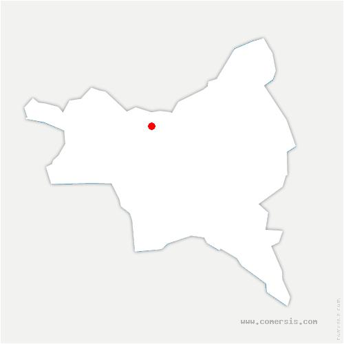 carte de localisation de Blanc-Mesnil
