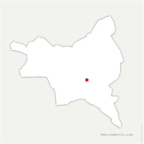 carte de localisation de Bondy