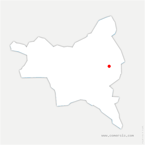 carte de localisation de Coubron