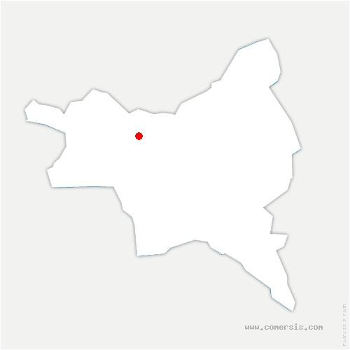 carte de localisation de Courneuve