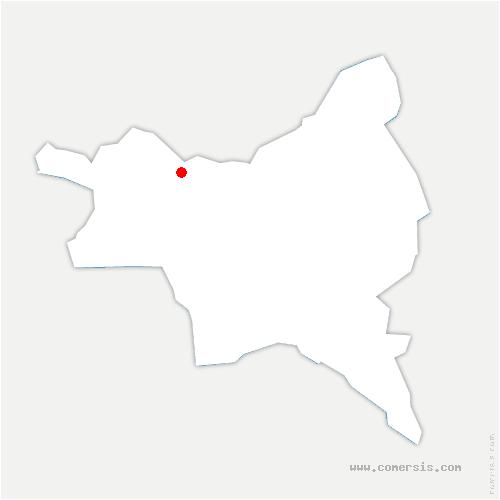 carte de localisation de Dugny