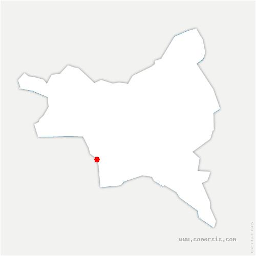 carte de localisation de Lilas