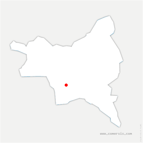 carte de localisation de Noisy-le-Sec