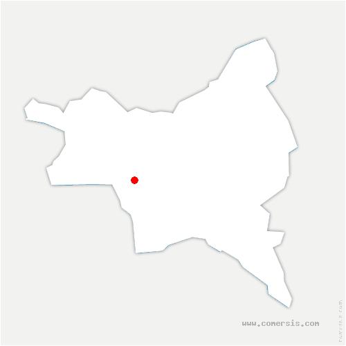 carte de localisation de Pantin