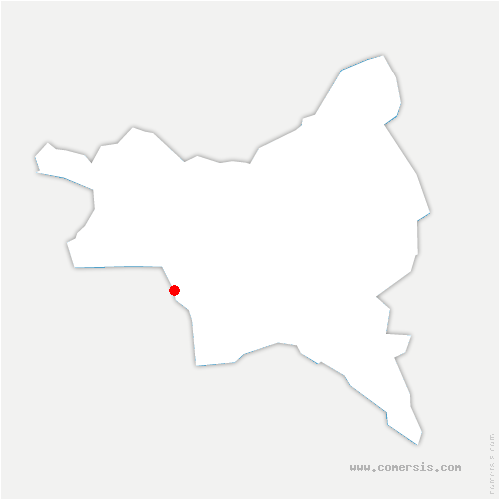 carte de localisation du Pré-Saint-Gervais
