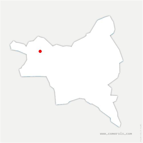 carte de localisation de Saint-Denis