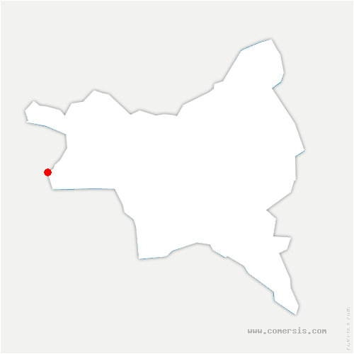 carte de localisation de Saint-Ouen