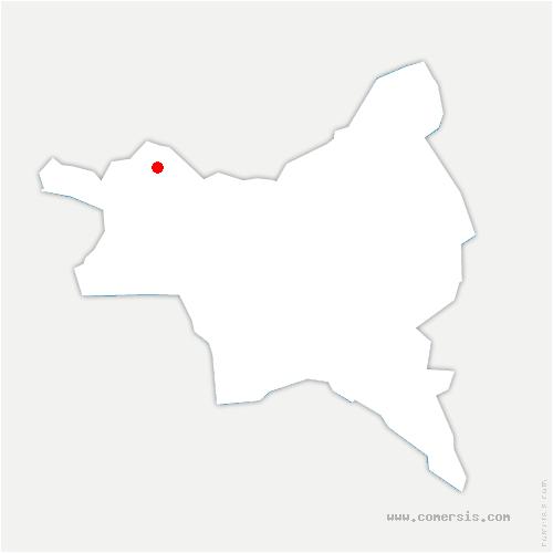 carte de localisation de Stains