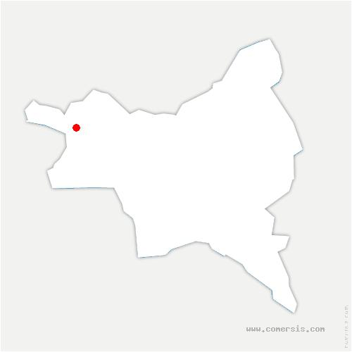 carte de localisation de Villetaneuse