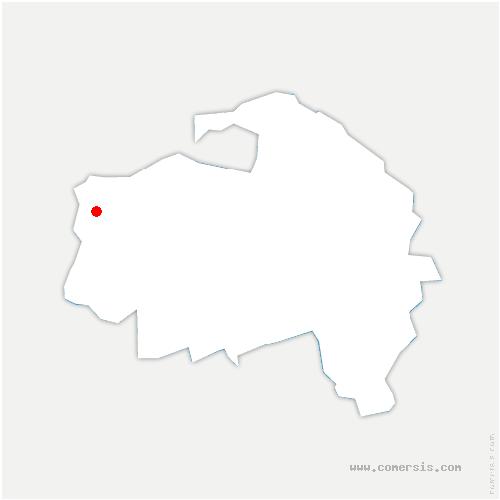 carte de localisation de Arcueil