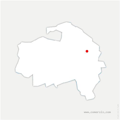 carte de localisation de Chennevières-sur-Marne