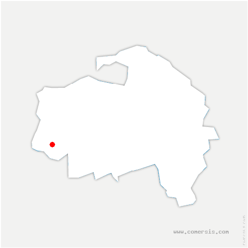 carte de localisation de Chevilly-Larue