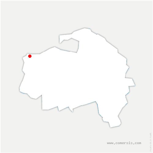 carte de localisation de Gentilly