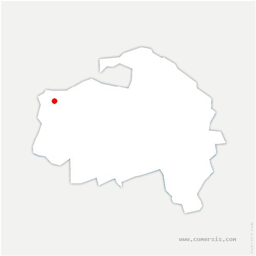 carte de localisation de Kremlin-Bicêtre
