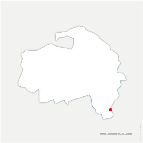 carte de localisation de Mandres-les-Roses