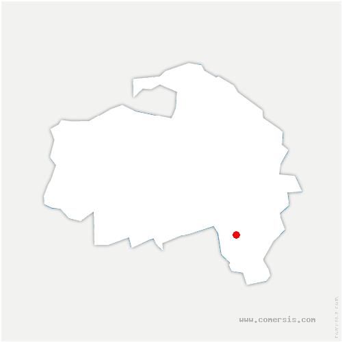 carte de localisation de Marolles-en-Brie