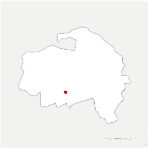 carte de localisation de Orly