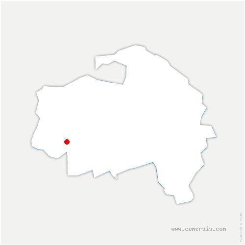 carte de localisation de Rungis