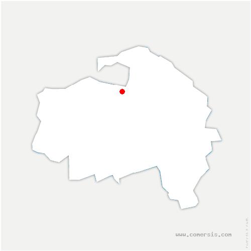 carte de localisation de Saint-Maurice