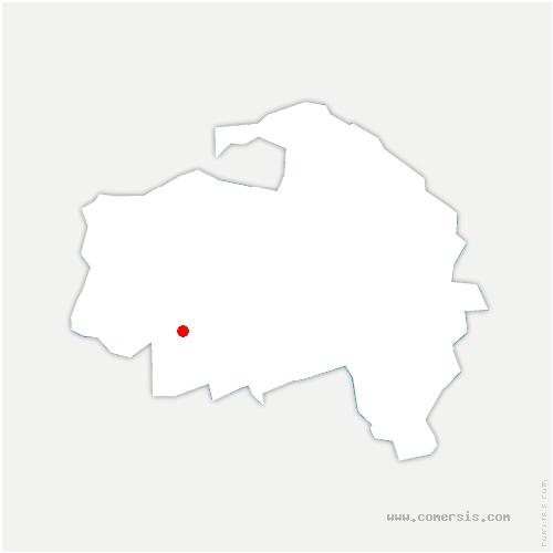 carte de localisation de Thiais