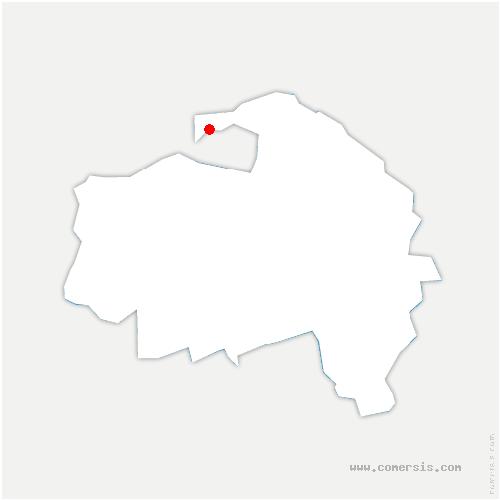 carte de localisation de Vincennes