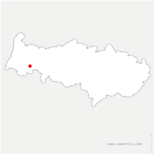 carte de localisation de Aincourt