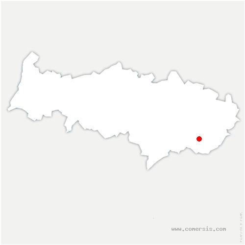 carte de localisation de Arnouville-lès-Gonesse