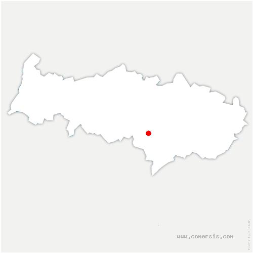 carte de localisation de Beauchamp