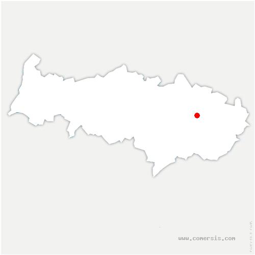 carte de localisation de Belloy-en-France