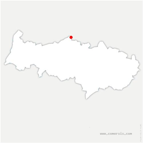 carte de localisation de Berville