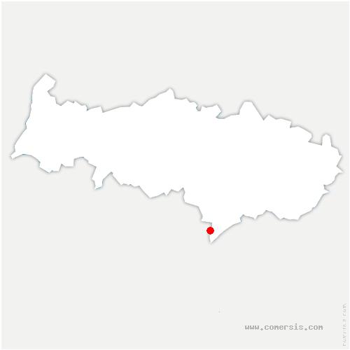 carte de localisation de Bezons