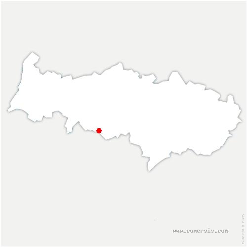carte de localisation de Boisemont