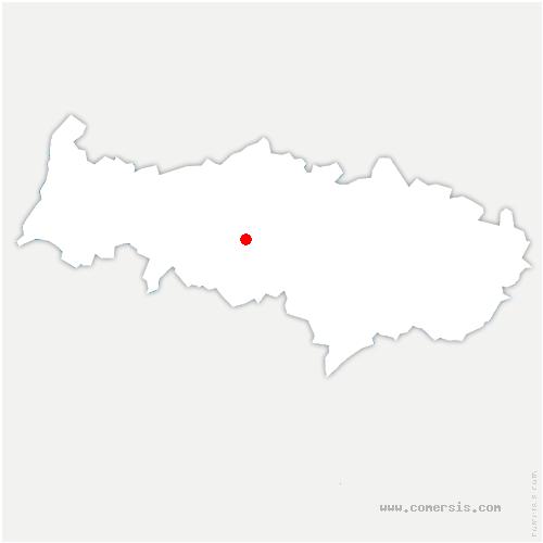 carte de localisation de Boissy-l'Aillerie