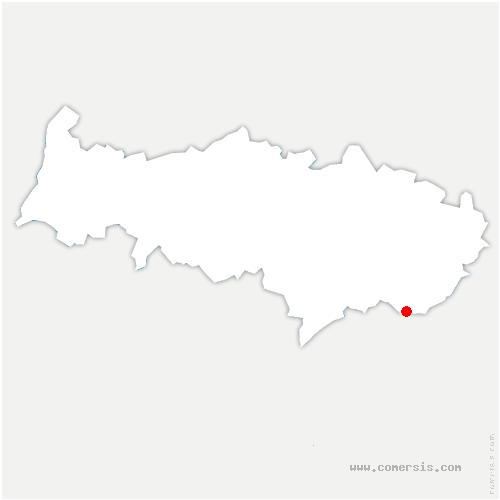carte de localisation de Bonneuil-en-France